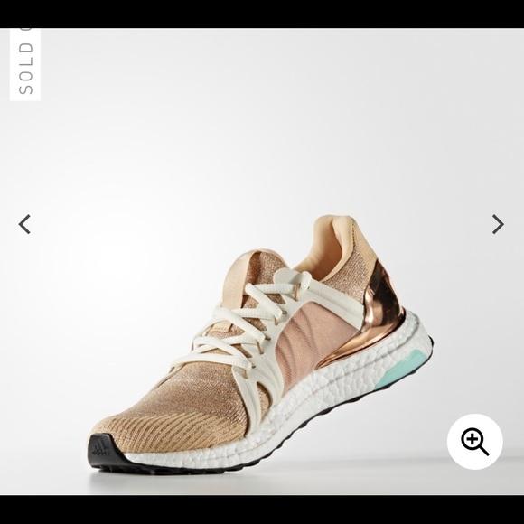 0ce6681ed9a9b Adidas by Stella McCartney Shoes - Adidas x Stella McCartney Ultra Boost  Gold Sneaker